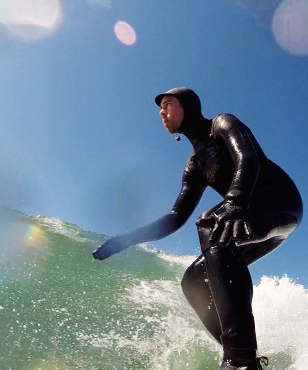 Rory Gibbons Surfing