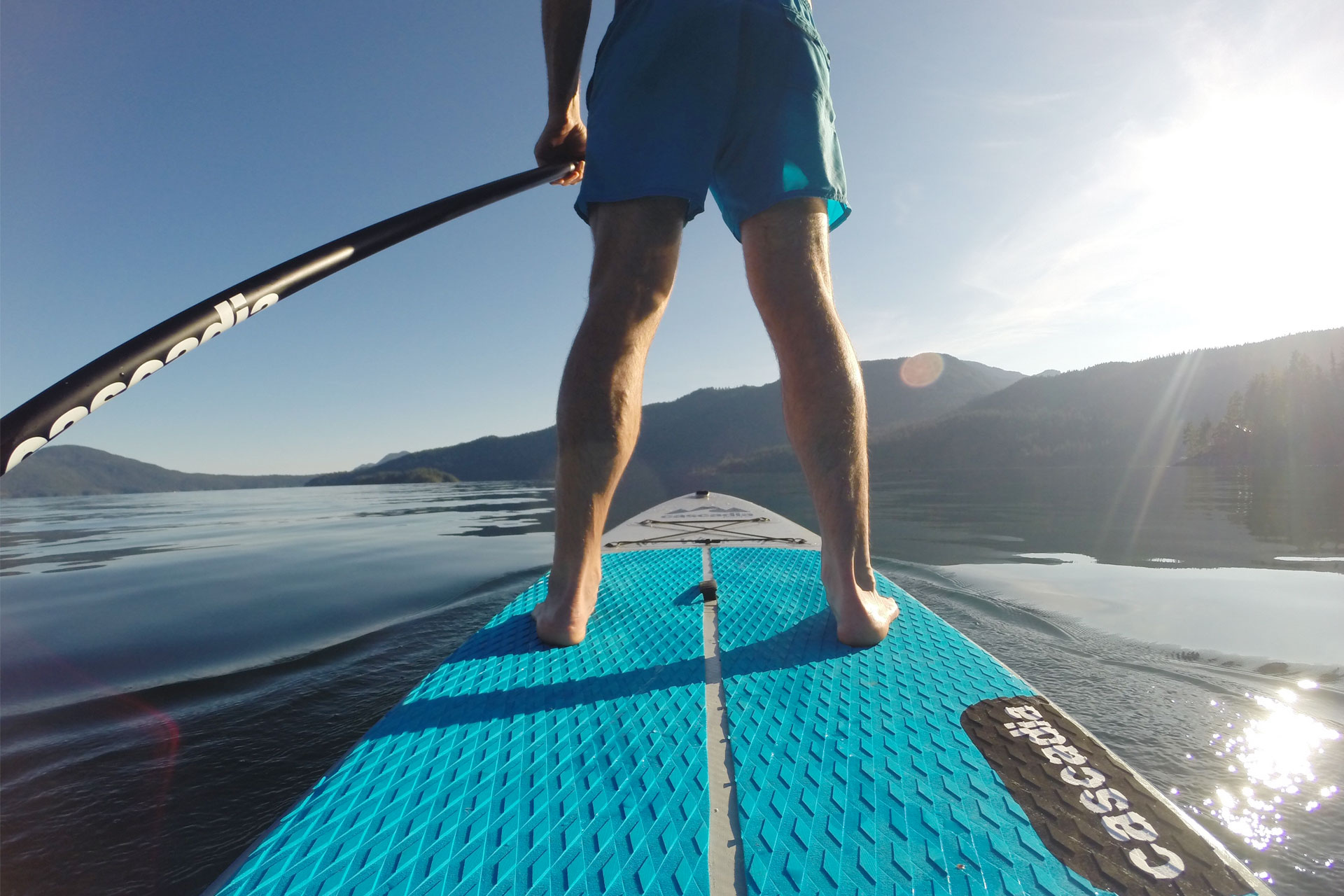 Doctor Rory Paddleboard Picture